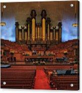 Mormon Meeting Hall Acrylic Print