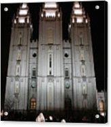 Mormon Nativity Acrylic Print