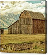 Mormon Row Barn No 3 Acrylic Print