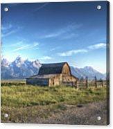 Mormon Row Hdr Acrylic Print