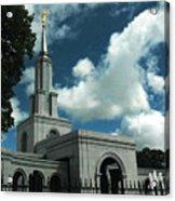 Mormon Temple Folsom Ca Acrylic Print