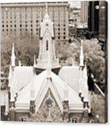 Mormon Temple Acrylic Print