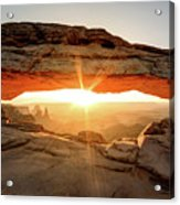 Morning Arch Acrylic Print