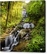 Morning At Amicalola Falls Acrylic Print