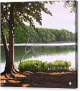 Morning At City Lake Park Acrylic Print