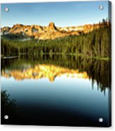 Morning At Lake Mamie Acrylic Print