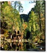 Morning At Oak Creek Arizona Acrylic Print