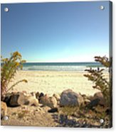 Morning At Qgunquit Beach. Acrylic Print
