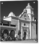 Morning At San Luis Rey Mission Acrylic Print