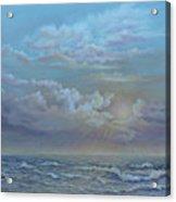 Morning At The Ocean Acrylic Print