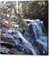 Morning Cascade Acrylic Print
