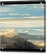 Morning Clouds Acrylic Print