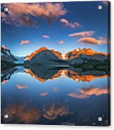 Morning Colors At Ice Field Center Acrylic Print