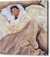 Morning Acrylic Print by Denise H Cooperman