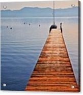 Morning Frost, Lake Tahoe, California Acrylic Print