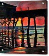 Morning Glow 4-27-15 Acrylic Print