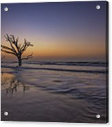 Morning Glow On Edisto Island Acrylic Print