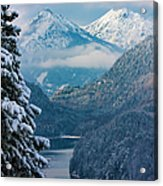 Morning In Bavaria Acrylic Print