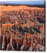 Morning In Bryce Canyon Acrylic Print