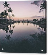 Morning In Paradise Acrylic Print