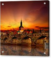 Morning In Prague Acrylic Print
