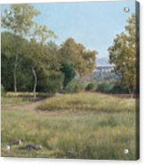Morning In The Arroyo Seco Acrylic Print