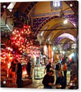 Morning In The Grand Bazaar Acrylic Print