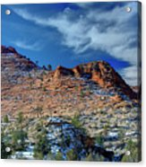 Morning In Zion Acrylic Print