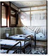 Morning Light After Nightmare - Urban Exploration Acrylic Print
