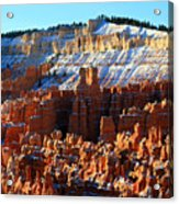Morning Light At Sunset Point In Bryce Canyon Acrylic Print