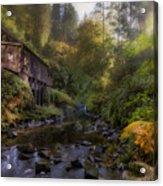 Morning Light Cedar Creek Grist Mill Acrylic Print