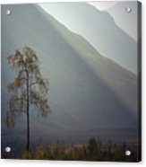 Morning Light Glen Etive Acrylic Print