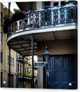Morning Light In The French Quarter Acrylic Print