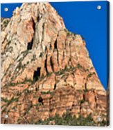Morning Light In Zion Canyon Acrylic Print