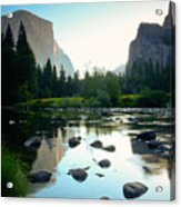 Morning Light On El Capitan Acrylic Print