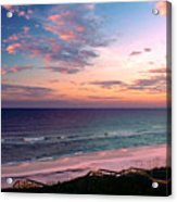 Morning Light On Rosemary Beach Acrylic Print