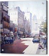 Morning Light Shadow In Kolktaa Acrylic Print