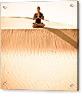 Morning Meditation Acrylic Print