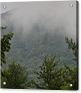 Morning Mist Bluestone State Park West Virginia Acrylic Print