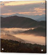 Morning Mist Four Acrylic Print