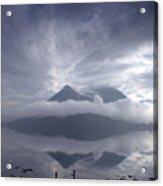 Morning Mist Glencoe Acrylic Print