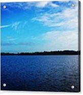 Morning On Bass Lake Acrylic Print