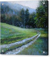 Morning On Blue Mountain Road Acrylic Print