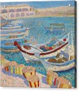 Morning  On Cyprus .2003 Acrylic Print
