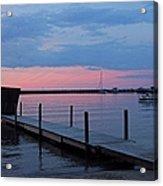 Morning On Lake Huron Acrylic Print