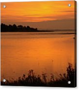 Morning On The Estuary 6.45  Acrylic Print