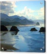 Morning On The Oregon Coast Acrylic Print