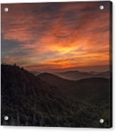 Morning On The Parkway. Acrylic Print