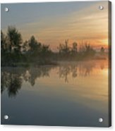 Morning On The River Acrylic Print
