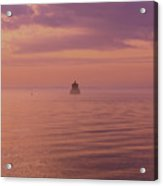 Morning On The Sound Acrylic Print